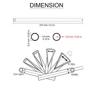 Image 5 - 72 ピース/セットktm sx sxf 125 200 300 450 500 505 exc f 250 350 400 530 ユニバーサルモトクロスオートバイホイールリムスポークスキン