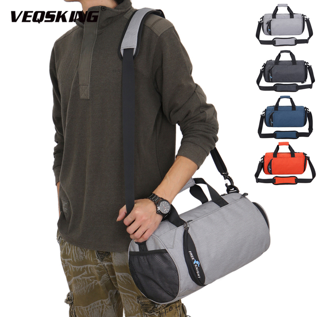 Sports Gym Shoulder Bags, Dry Wet Separation Fitness Hand Bags,Multifunction Training Yoga Crossbody Bag, Shoes Bags
