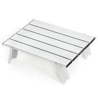 Ultraleicht Tisch Im Freien Mini Folding Tragbaren Tisch Picknick Tisch Licht Aluminium Legierung Reise Tabelle Für Wilde Camping|Outdoor-Werkzeuge|Sport und Unterhaltung -
