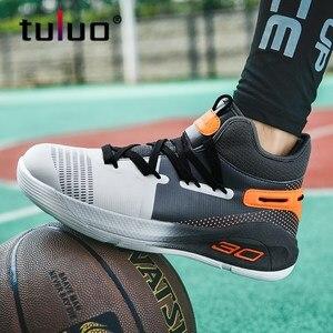 баскетбольные кросовки Мужские баскетбольные кроссовки Jordan с высоким берцем, легкие баскетбольные кроссовки с амортизацией, Мужская дышащ...
