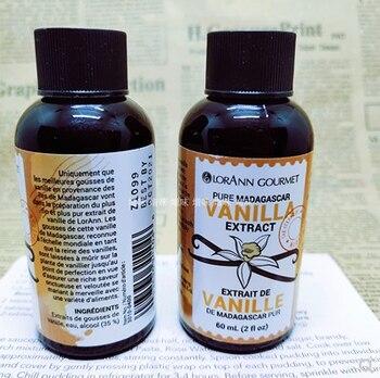 LORANN Natural Madagascar Vanilla Extract Vanilla Cream Vanilla Pods Vanilla Stick For Dessert Cakes Baking FROM USA lorann vanilla butternut dram with dropper