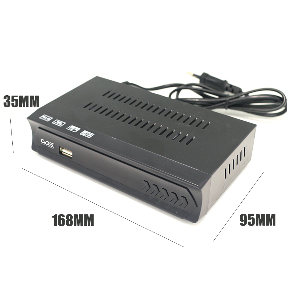 Image 2 - Vmade Fully HD Digital DVB S2 Satellite Receiver DVB S2 TV BOX MPEG 2/ 4 H.264 Support CCCAM HDMI Set Top Box For RUSSIA /Europe-in Satellite TV Receiver from Consumer Electronics