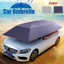 Автомобильный тент, крыша, зонт, складной, ткань Оксфорд, автомобильный тент, водонепроницаемый, пылезащитный, анти-УФ, защита автомобиля, зонтик, защита от солнца, покрытие