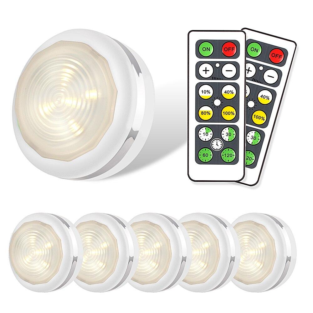Ночной светильник с сенсорным датчиком, белый светодиодный светильник с регулируемой яркостью под шкафом, кухонный светильник для спальни, лестницы, светильник с пультом дистанционного управления|Подшкафные лампы|   | АлиЭкспресс