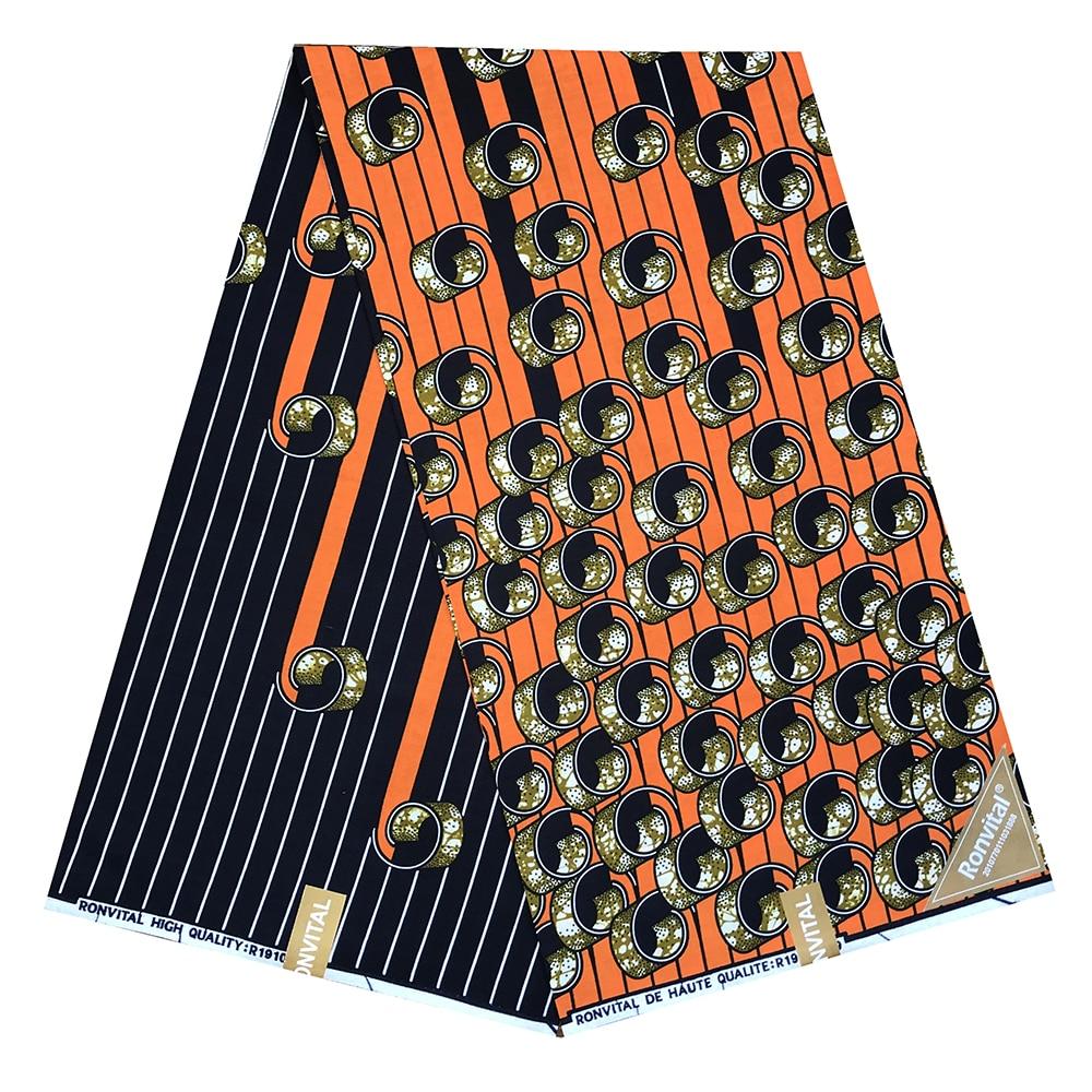 African Fabric Wax Print Wax Wax Guaranteed Real Wax Wax High Quality Pagne 6yard African Ankara Sewing Fabric
