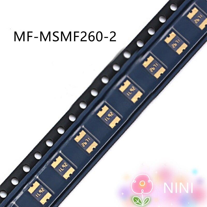 20 шт./лот MF-MSMF260-2 2.6A 6V 100% Новый оригинальный