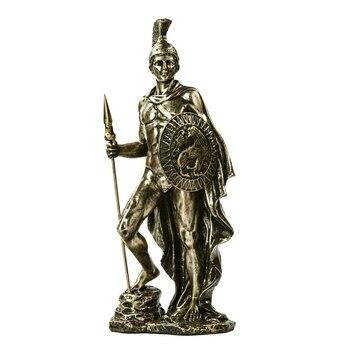 Ancient Greek Spartan Warrior Sculpture Handmade Resin Fighter 1
