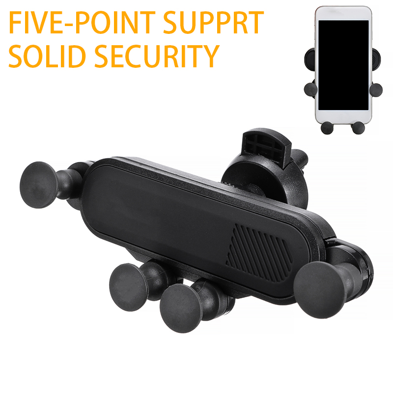 New Universal Gravity <font><b>Car</b></font> For Smart <font><b>Phone</b></font> Holder Stands Air Vent Mount For <font><b>Mobile</b></font> <font><b>Phone</b></font> Stand Holders Cradle <font><b>Accessories</b></font> image