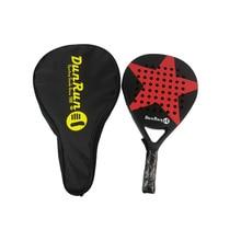 2PCS 2021Adult Professional Full Carbon Beach Tennis Paddle Racket Soft  Tennis Raqueta With Bag Unisex Equipment