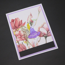 ZhuoAng butterfly fairy Cutting Mold DIY Scrapbook Album Decoration Supplies Clear Stamp Paper Card