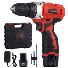 Power-Tools Drill-Lithium-Battery-Screwdriver Electric-Drill Chargeable JCD Mini-Drive