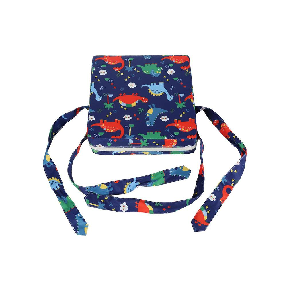 Kids Increased Chair Pad Soft Baby Children Dining Cushion Adjustable Chair Booster Cushion Pram Chair Pad