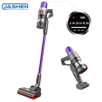 Jashen V16 Handheld Vacuum Cleaner Cordless Vacuum Hand stick 350W Strong Suction Power Low noise Wall Mounted large battery