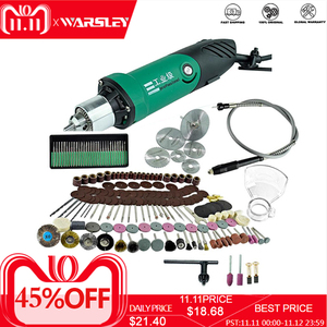 Image 1 - Mini graveur électrique de perceuse de puissance élevée de 6mm 480W avec les outils électriques rotatifs de Dremel de vitesse Variable de 6 positions avec larbre Flexible