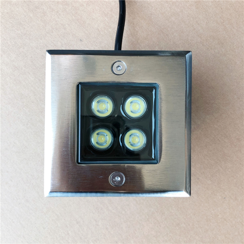 Underground-Lamps Outdoor-Lighting LED DC12V IP65 AC CE ROHS Ac85--265v 8pcs/Lot 4W