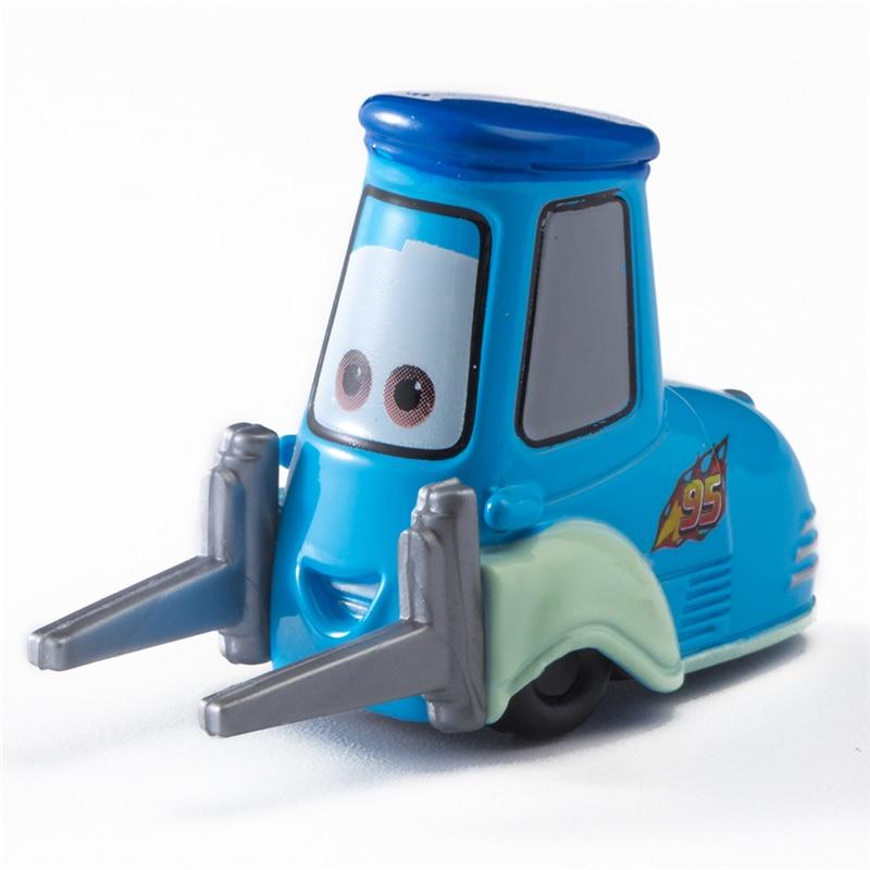 Car Diney Pixar Car  3 Guido Lightning McQueen Jackon Torm Cruz Ramirez Mater 1:55 Diecat Metal Alloy Model Toy Car Kid