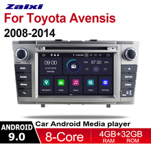 цена на 2 Din Car Multimedia Player Android 9 Auto Radio For Toyota Avensis 2009 2010 2011 2012 2013 2014 DVD GPS 8 Cores HD