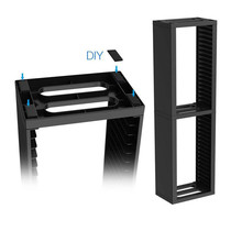 PS4 Double 2 layer Storage Stand Base Cradle Kit 36pcs Game Discs Seats For PS4 Pro/PS4 Slim /PS4 Holder Collection Display