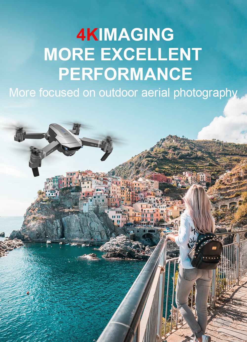 SG907 4K 1080P Video Gimbal Full HD Dual Kamera RC Drone FPV GPS 5G WIFI Quadcopter Folgen mich Professionelle Weitwinkel Anti Schütteln - 5