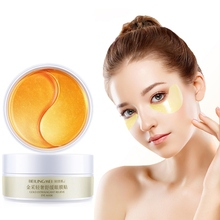 60 pcs Gold Eye Patch Eye Mask Face Anti Wrinkle Gel Sleep Gold Mask Eye Patches
