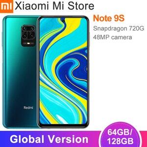 Смартфон Xiaomi глобальная версия 4 Гб 64 Гб/6 ГБ 128 ГБ, Snapdragon 720G, камера 48 МП, 6,67 дюйма, 5020 мАч, зарядка 18 Вт