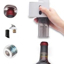 Original Electric Wine Opener Corkscrew Automatic Wine Bottle Opener Kit Cordless Foil Cutter Wine Opener for Party Christmas цена в Москве и Питере