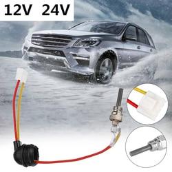 12 V/24 V ogrzewanie postojowe wtyczka zapłonowa armatura do samochodów ciężarowych Parking 88-98W uniwersalny podgrzewacz powietrza na olej napędowy świeca żarowa akcesoria samochodowe