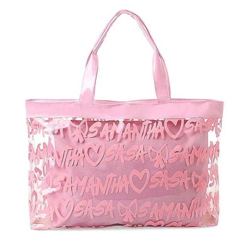 Pvc Beach Summer Bag 2019 New Handbag Women Bag Plastic Jelly Shoulder Bags Lovely Beach Bag Fashion Messenger Bag Big Capacity