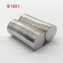 Неодимовый магнит 18x1 мм  20x1 маленький круглый лист магниты