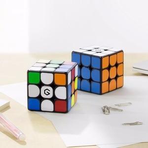 Image 4 - Original xiaomi mijia giiker m3 마그네틱 큐브 3x3x3 생생한 컬러 스퀘어 매직 큐브 퍼즐 과학 교육 giiker app와 함께 작동