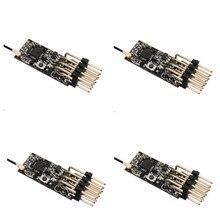 11*25 مللي متر 2.4 جرام 4CH Frsky D8 PPM PWM جهاز استقبال صغير 3.5 10 فولت ل FRSKY X9D زائد X9E DJT/DFT/DHT أجهزة الإرسال RC الطائرة FPV سباق