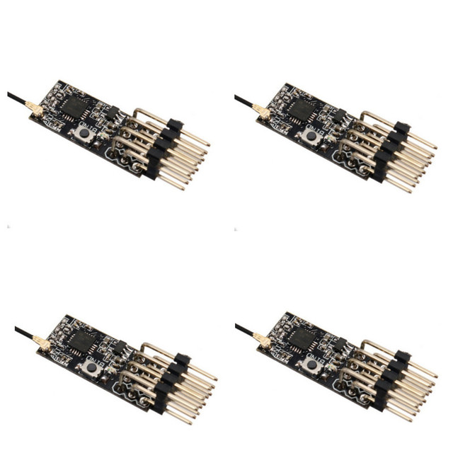 11*25mm 2.4G 4CH Frsky D8 PPM PWM Mini Receiver 3.5 10V for FRSKY X9D Plus X9E DJT/DFT/DHT Transmitters RC Airplane FPV Racing