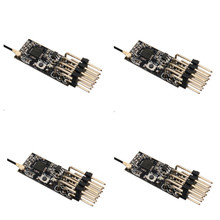 Mini receptor Frsky D8 PPM PWM de 11x25mm, 2,4G, 4 canales, 3,5 10V, para transmisores FRSKY X9D Plus X9E DJT/DFT/DHT RC avión FPV carreras