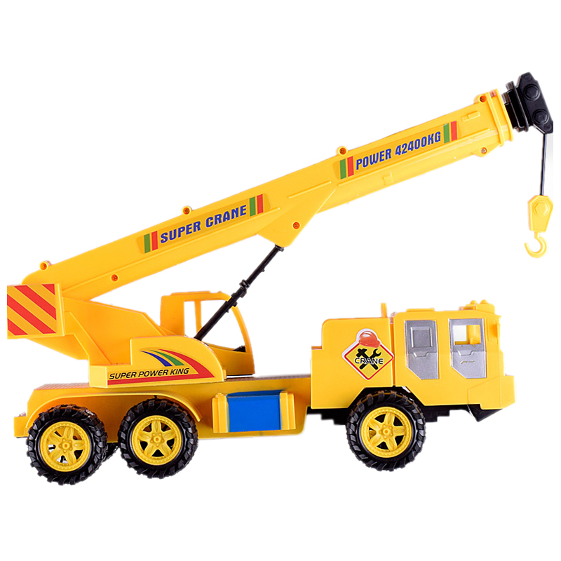 Children's Toys Inertia Engineering Crane Plastic Toys Beach Toy Simulated Vehicles Toy Christmas Gifts For Kids