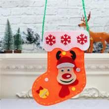 2020 рождественские чулки дневной подарок сумка для конфет украшения