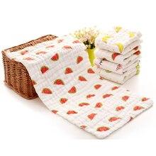 Детский нагрудник для младенцев, шестислойное полотенце-слюнявчик высокой плотности, хлопковое треугольное полотенце для малышей, шарф, Товары для малышей 0-12 месяцев