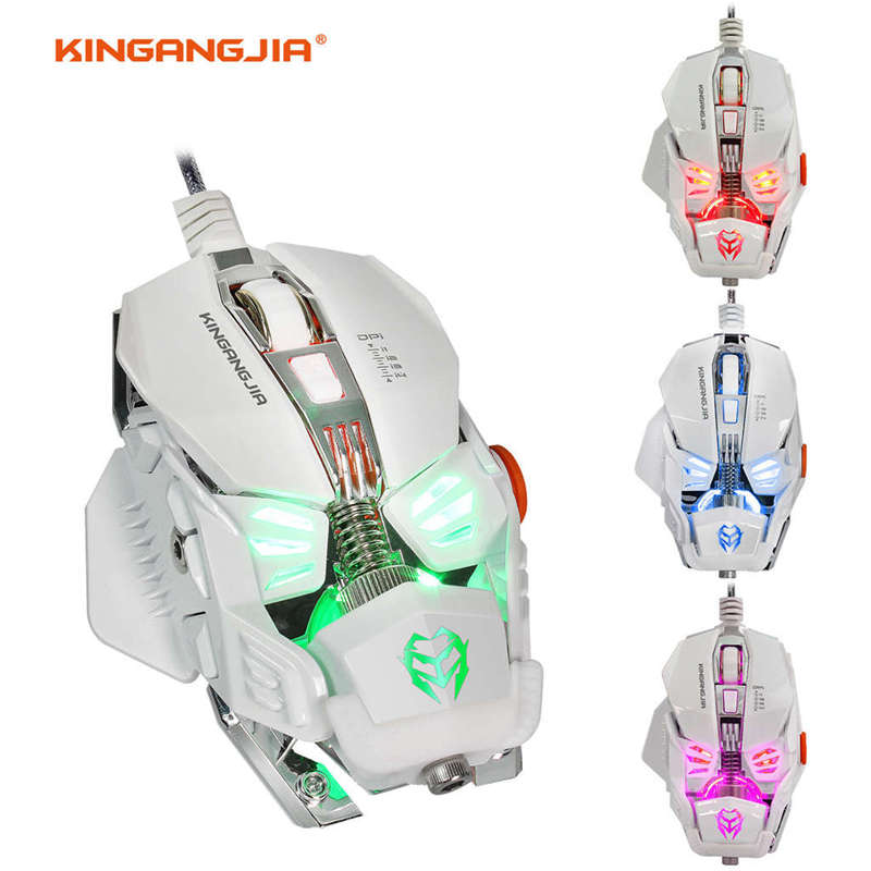 Gaming Mouse Mechanical Mouse 8 Button Wired Game Mouse Gamer G590 Macros Programming Optical Computer Mouse For Laptop Pc in Mice from Computer Office