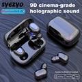 L21 TWS Bluetooth Drahtlose Kopfhörer Mini Wasserdichte 9D Surround Sound Noise Reduktion Musik Kopfhörer Für Xiaomi Huawei Iphone