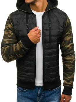 ZOGAA 2019 New men winter coats 2 colour coat big size clothes Casual fashion stitching parka plus S-3XL