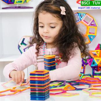 28 sztuk DIY układanki magnetyczne budowlane klocki magnetyczne modelowanie budowlane zabawki dla dzieci TUV test importu materiału tanie i dobre opinie Z tworzywa sztucznego MTL-MG04 28 pieces Magnetic Designer Construction Set Model Building Toy Magnets Magnetic Blocks