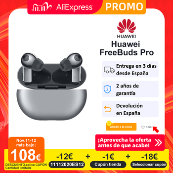 HUAWEI-auriculares FreeBuds Pro con reducción activa de ruido, transmisión Vocal de sonido ambiente transparente, conexión de dispositivo Dual, Smart Touch