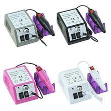 1 Набор электрическая дрель для ногтей 20000 об/мин маникюрная