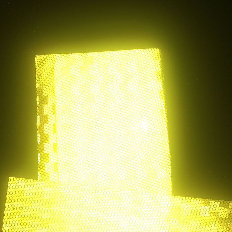 Avery Reflective Film Engineering Level Reflective Film Honeycomb Reflective Film Yellow Avery 3500 Manufacturers Direct Selling