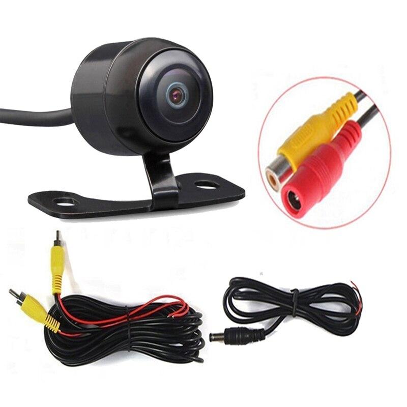 كاميرا للرؤية الليلية الجديدة 120 درجة كاميرا الرؤية الأمامية/الخلفية للسيارة عكس الكاميرا الاحتياطية
