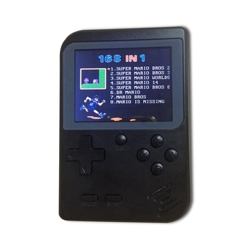 Retro Mini Portable Handheld Game Console Players 3.0 Inch 8 Bit Classic Video Black