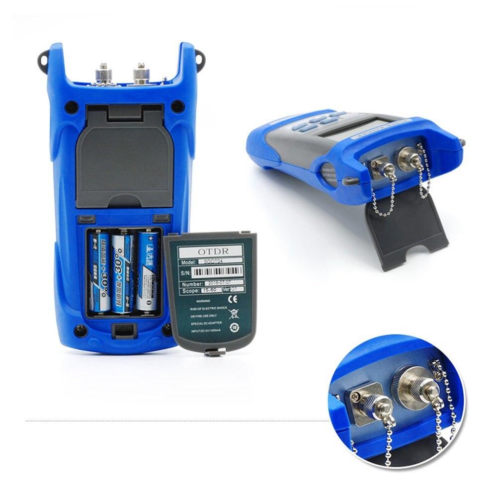 Handheld Optical Fiber Breakpoint Detector to Test a Fiber Link Node Length and Fault Location 2