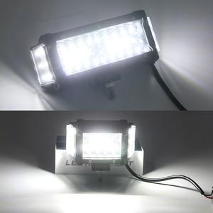 Image 5 - NLpearl Light Bar/światło robocze 4/7 cala 108W 168W LED światło robocze Bar Side Luminous listwa świetlna Led dla Jeep Truck Offroad ATV 12V 24V