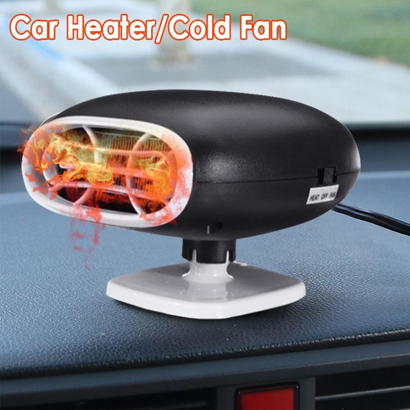 1 шт., универсальный автомобильный обогреватель, Demister, Defroster, 12 В 150 Вт, зимние вентиляторы с подогревом, летний холодный ветер, 2 в 1, автомобиль...