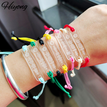 HIYONG Custom Music Code Bracelet, Custom Bracelet Music Code Bracelets Hand-Made Rope Bracelets Personalized Song Code  Jewelry