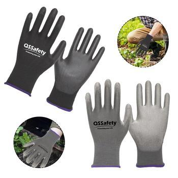Ogrodnicze rękawice robocze antystatyczna odzież oddychająca odporne rękawice robocze do kopania sadzenia narzędzia ogrodnicze tanie i dobre opinie CN (pochodzenie) 70-100g Working Gloves Ultra cienkie Other